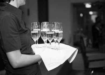 Service Champagner